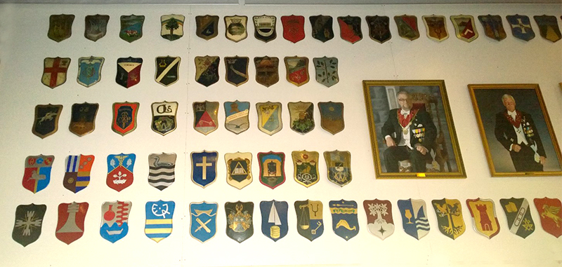 (part of) the Wall och Shields at the house of par Bricole in Borås
