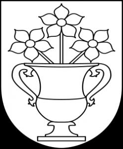 Bollebygd härad vapen av Lokal_Profil. Licensierad under CC BY-SA 2.5 via Wikimedia Commons