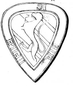 Birger jarls äldsta sigill, från 1238.