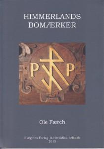 """Bokomslag till """"Himmerlands bomärken"""" av Ole Færch."""