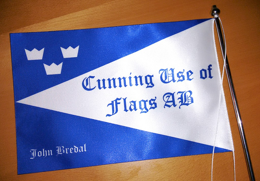 "Flag for ""Cunning use of flag AB (Ltd)"""