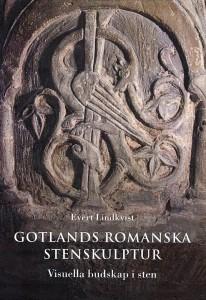 "Book cover ""Gotlands romanska stenskulpturer"""