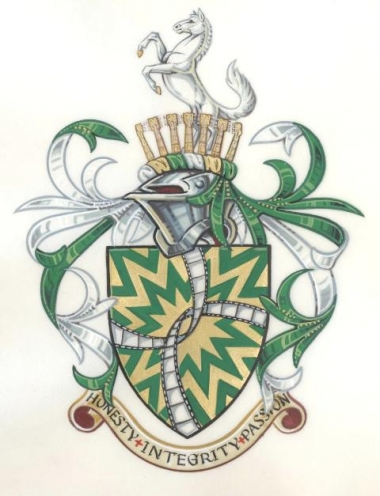 The Arms and Crest of Christopher Corbould