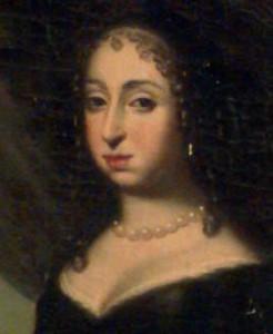 Queen Hedvig Eleonora (1654-1672) by David Klöcker Ehrenstrahl