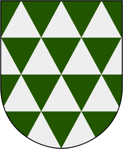 Coat of arms for municipality of Fristad 1952-73