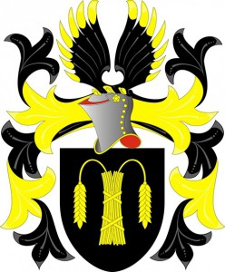 Coat of Arms of Wasling family, by Fredrik Falkenback
