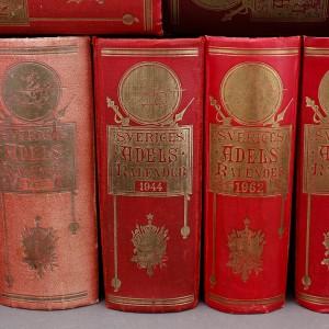 The Swedish Peerage Book or Adelskalendern