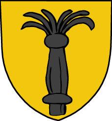 Arms of Krister Nilsson Vasa