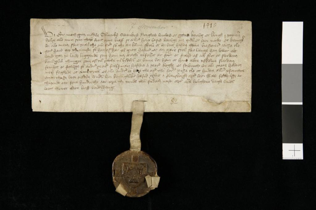 frälsebrev av Erik av Pommern