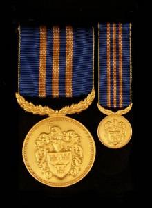 Svenska Heraldiska Föreningens medalj