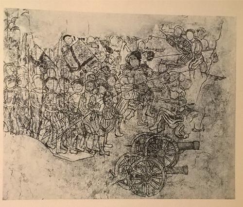 Kalkmålning i Åbo slott