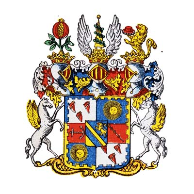 Arms of Count Leijonstedt