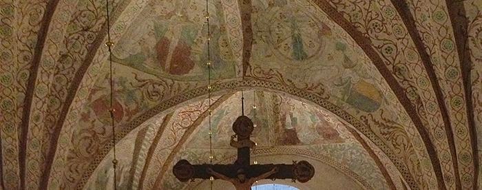 INteriör från Ösmo kyrka