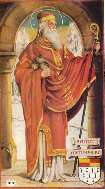 Tomtens (St Nicholas) vapensköld