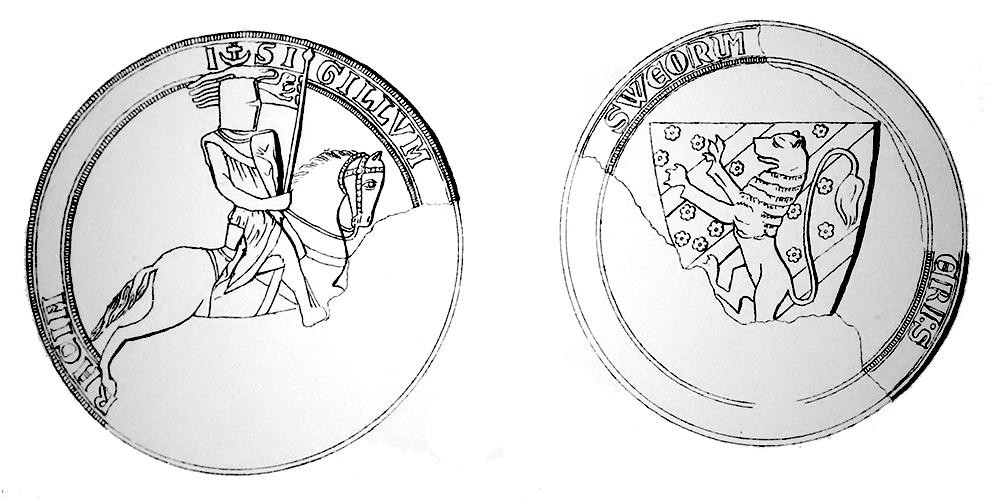 Birgers tredje sigill, från 1257