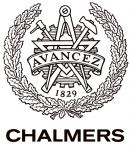 Coat of arms of the University of Chalmers (Chalmers tekniska högskola)