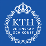 Coat of arms of KTH Royal Institute of Technology, Stockholm.
