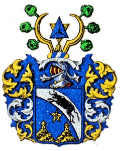 Arms of the noble family Dahlstierna, no 1864