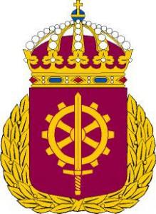 Vapensköld för Försvarsmaktens tekniska skola