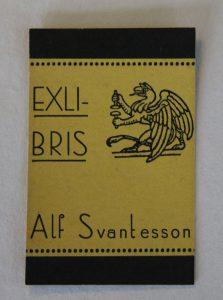 Alf Svantessons exlibris