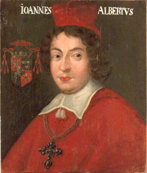 Kardinal Johan Albert Vasa, kusin till Gustav II Adolf.