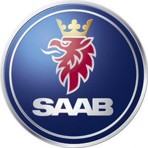 Logotypen för Saab.