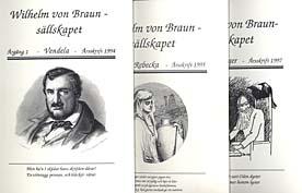 Omslag till Wilhelm von Brunsällskapets årsböcker.