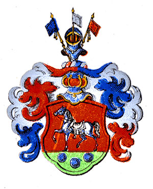 Coat of Arms for the noble family Trafvenfelt no 519