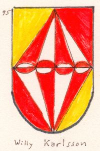 Arms of Willy Karlsson from Grästorp