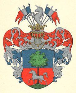 Arms of the noble family Breitholtz