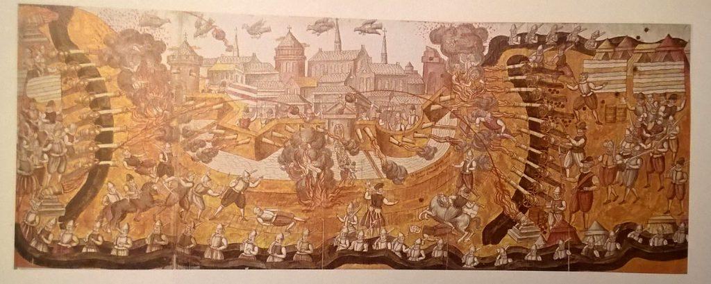 belägringen av Narva 1581, enligt Rudolf van Deventer.