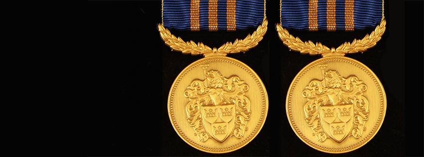 svenska heraldisk föreningens förtjänstmedalj