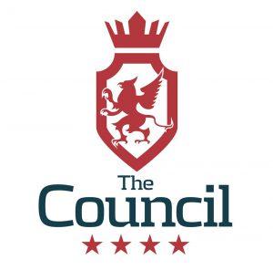 The council  - företag med en jätteful vapensköld