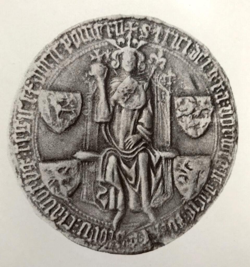 Kung Eriks (av Pommern) norska unionssigill