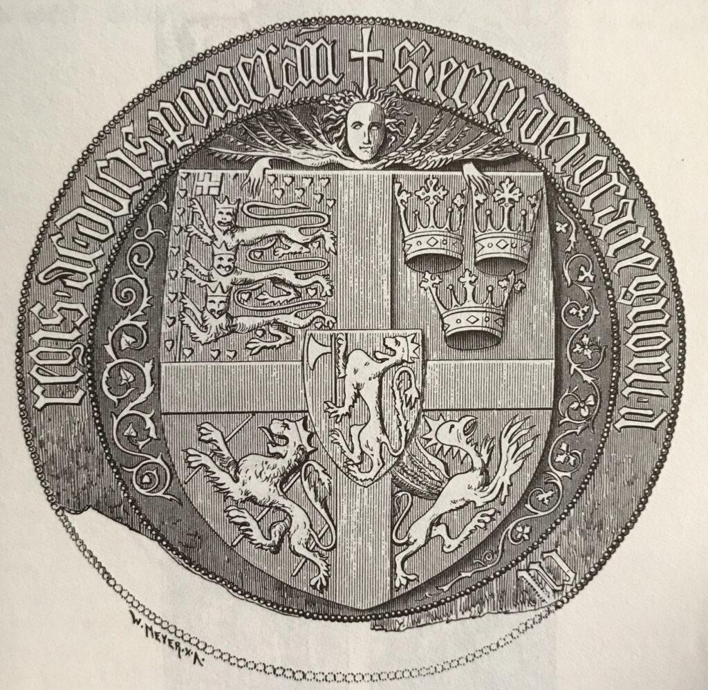 Kung Eriks (av Pommern) unionssigill.