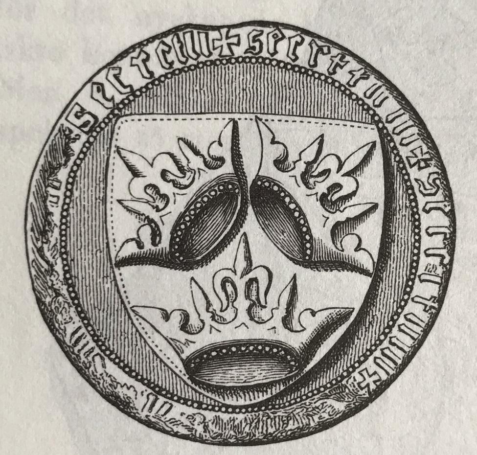 Drottning Margaretas sigill.